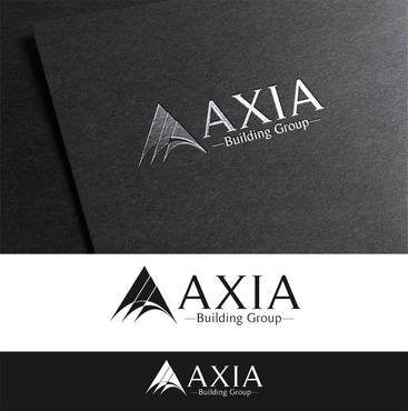 Axia Building Group Logo Winning Design by CreativeIdeas