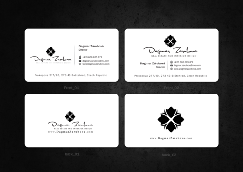 Dagmar Zarubova - Real Estate Interior Design Business Cards and Stationery  Draft # 167 by einsanimation