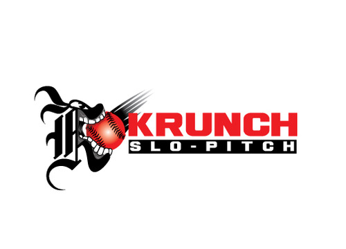 Krunch Slo-pitch A Logo, Monogram, or Icon  Draft # 3 by timefortheweb
