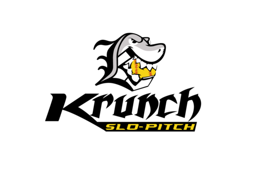 Krunch Slo-pitch A Logo, Monogram, or Icon  Draft # 4 by timefortheweb
