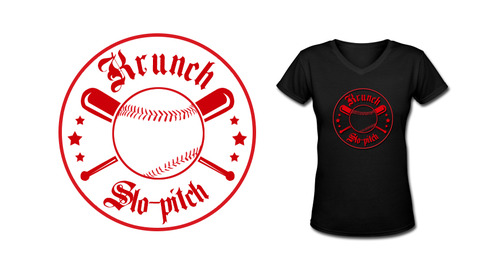 Krunch Slo-pitch A Logo, Monogram, or Icon  Draft # 6 by sulakshana