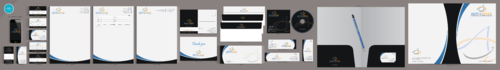 Artistic Dental Business Cards and Stationery  Draft # 265 by aheadpoint