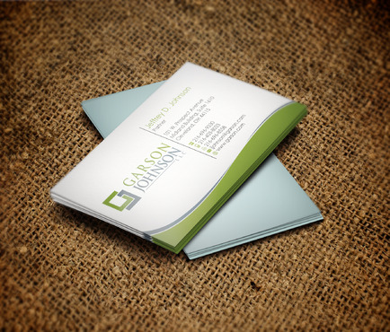 Garson Johnson LLC Business Cards and Stationery  Draft # 90 by skyscraper