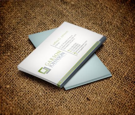 Garson Johnson LLC Business Cards and Stationery  Draft # 91 by skyscraper
