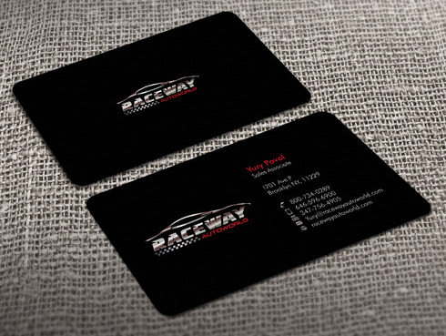 Raceway Autoworld  Business Cards and Stationery  Draft # 34 by Xpert
