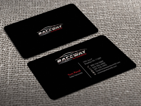 Raceway Autoworld  Business Cards and Stationery  Draft # 35 by Xpert