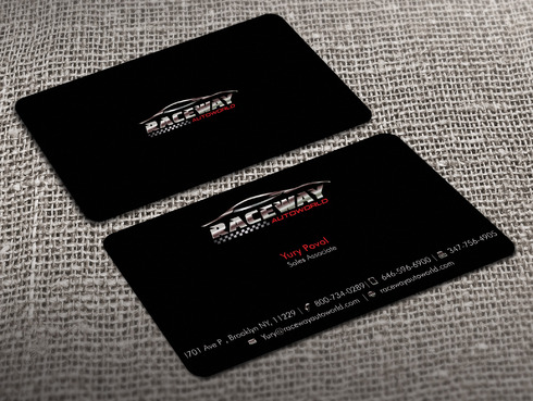 Raceway Autoworld  Business Cards and Stationery  Draft # 37 by Xpert