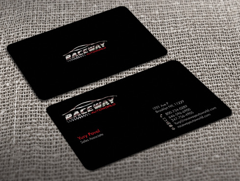 Raceway Autoworld  Business Cards and Stationery  Draft # 36 by Xpert