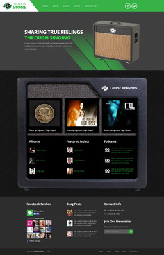 Oblivion Stone Complete Web Design Solution  Draft # 1 by vanfire