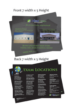 locations brochure Marketing collateral  Draft # 25 by Deziner85