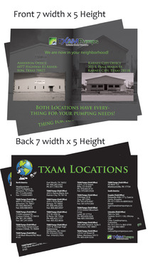 locations brochure Marketing collateral  Draft # 26 by Deziner85