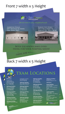 locations brochure Marketing collateral  Draft # 27 by Deziner85