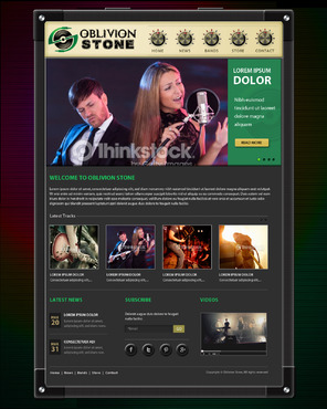 Oblivion Stone Complete Web Design Solution  Draft # 8 by pivotal