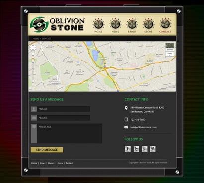 Oblivion Stone Complete Web Design Solution  Draft # 12 by pivotal