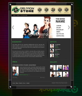 Oblivion Stone Complete Web Design Solution  Draft # 13 by pivotal