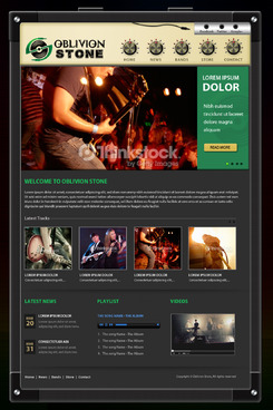 Oblivion Stone Complete Web Design Solution  Draft # 25 by pivotal