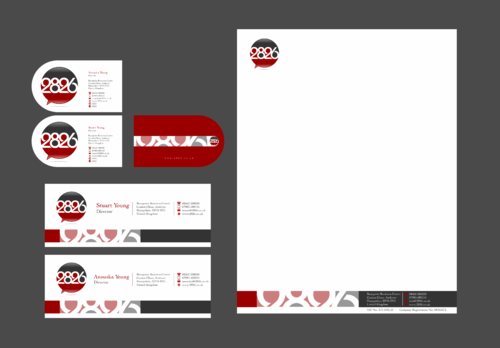 Business Cards, Letterhead, Continuation Paper and Email Signature Business Cards and Stationery Winning Design by Xpert