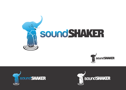 Sound Shaker or SoundShaker A Logo, Monogram, or Icon  Draft # 2 by yudesign