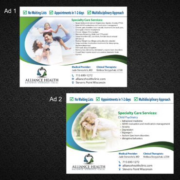 Alliance Health Marketing collateral  Draft # 2 by monski