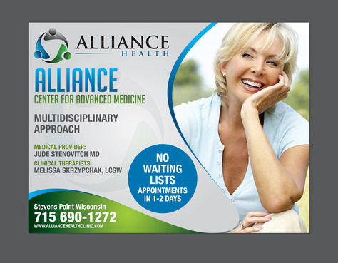 Alliance Health Marketing collateral  Draft # 7 by destudio