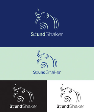 Sound Shaker or SoundShaker A Logo, Monogram, or Icon  Draft # 196 by sergiulazin