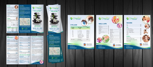trifold Brochure & Price List required