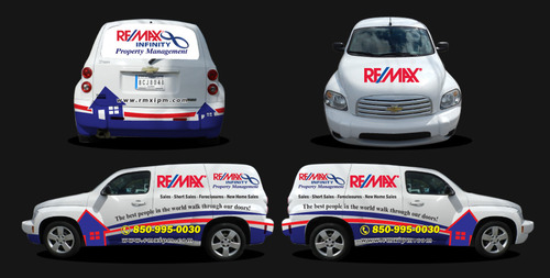 RE/MAX Infinity Company Car Marketing collateral  Draft # 14 by unresolve