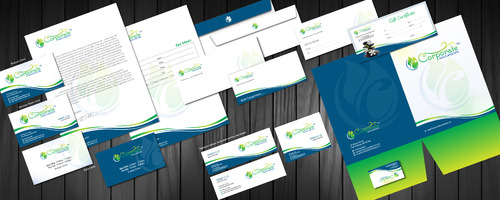 Business Card, letterheads, envelop