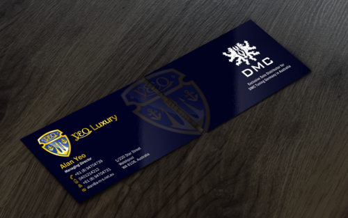 YEO LUXURY Business Cards and Stationery  Draft # 185 by einsanimation