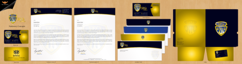 YEO LUXURY Business Cards and Stationery  Draft # 196 by einsanimation