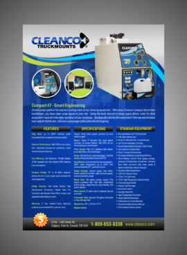 Cleanco Truckmounts Marketing collateral  Draft # 1 by Kaiza