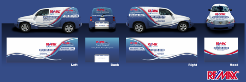 RE/MAX Infinity Company Car Marketing collateral  Draft # 16 by Erza8