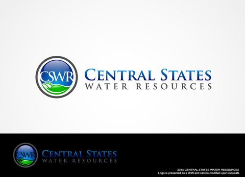 Central States Water Resources A Logo, Monogram, or Icon  Draft # 114 by hands4art