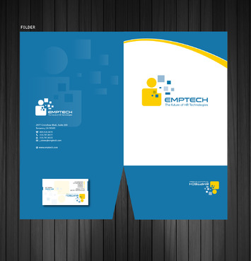 Emptech Business Cards and Stationery  Draft # 161 by Achiver