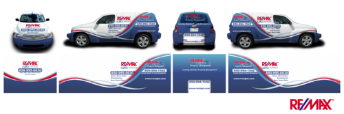 RE/MAX Infinity Company Car Marketing collateral  Draft # 19 by Erza8