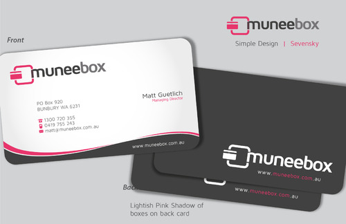 Fun modern design for new quirky company Business Cards and Stationery  Draft # 90 by sevensky