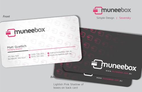 Fun modern design for new quirky company Business Cards and Stationery  Draft # 91 by sevensky