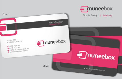 Fun modern design for new quirky company Business Cards and Stationery  Draft # 92 by sevensky