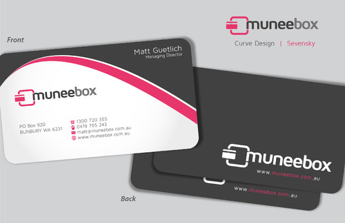 Fun modern design for new quirky company Business Cards and Stationery  Draft # 94 by sevensky