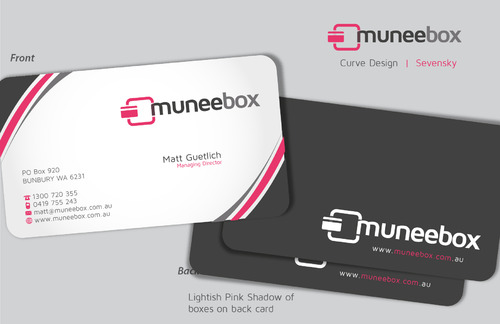 Fun modern design for new quirky company Business Cards and Stationery  Draft # 93 by sevensky
