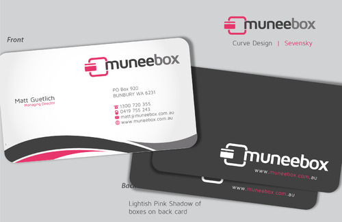 Fun modern design for new quirky company Business Cards and Stationery  Draft # 95 by sevensky