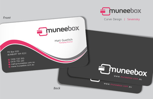Fun modern design for new quirky company Business Cards and Stationery  Draft # 96 by sevensky