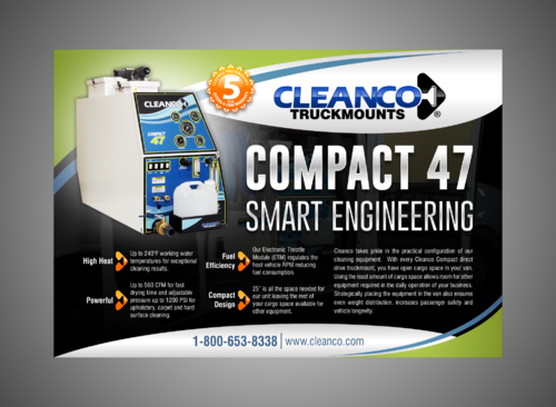 Cleanco Truckmounts Marketing collateral  Draft # 21 by Kaiza