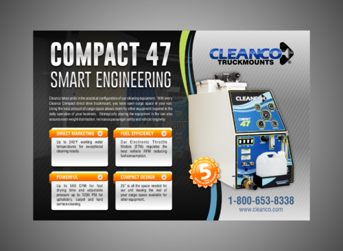 Cleanco Truckmounts Marketing collateral  Draft # 23 by Kaiza