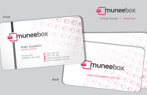 Fun modern design for new quirky company Business Cards and Stationery  Draft # 97 by sevensky