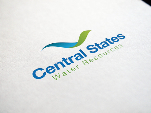Central States Water Resources A Logo, Monogram, or Icon  Draft # 196 by ferkysign