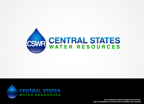 Central States Water Resources A Logo, Monogram, or Icon  Draft # 255 by hands4art