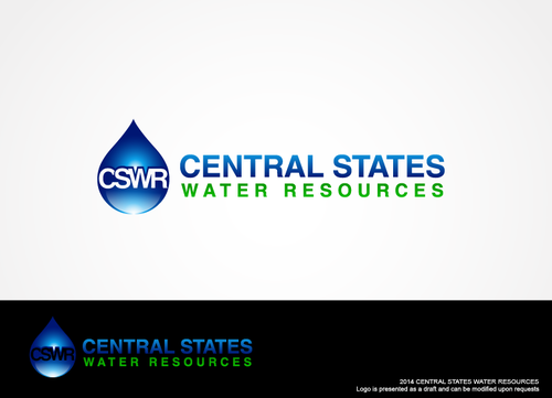 Central States Water Resources A Logo, Monogram, or Icon  Draft # 256 by hands4art