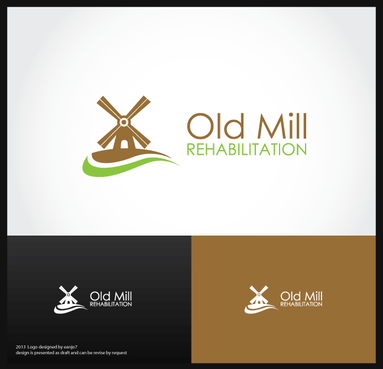 Old Mill Rehabilitation A Logo, Monogram, or Icon  Draft # 60 by eanjo7