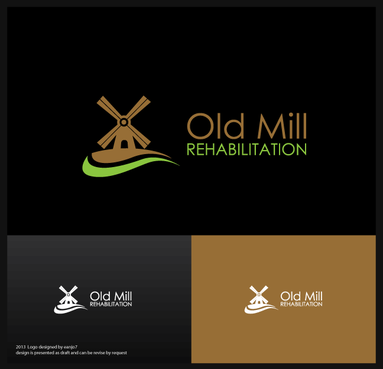 Old Mill Rehabilitation A Logo, Monogram, or Icon  Draft # 61 by eanjo7